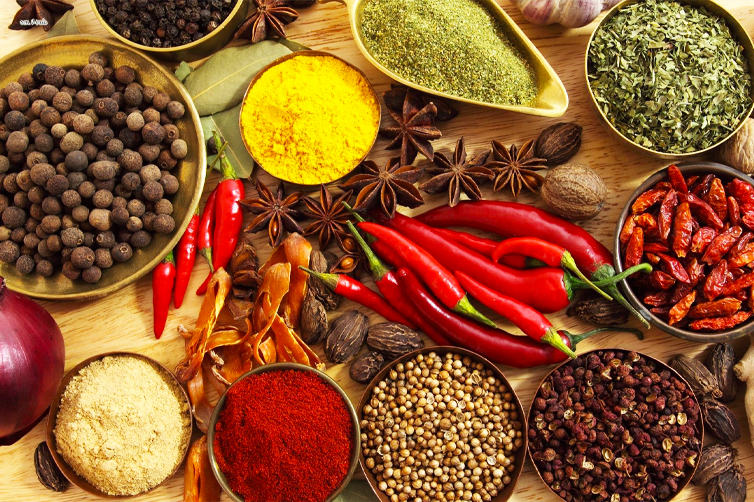 Organic Spices Helps Losing Weight