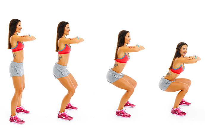 Squat Exercise - Weight Loss Diet to Lose Weight Fast