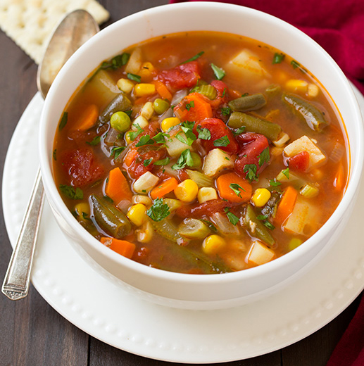 Weight Loss Diet with Homemade Vegetable Soup