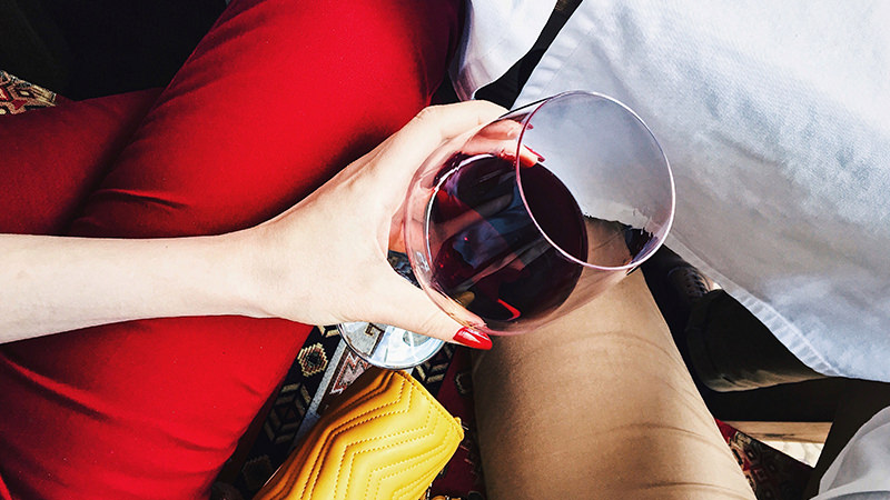 A Glass of Wine a Day Is an Effective Fat Releaser - Biggest Secrets to Losing Weight Fast and Naturally
