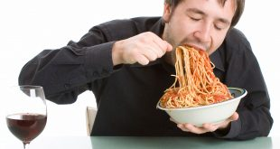 Don't eat too fast - Tips to Get Calories Out Of Restaurant Food