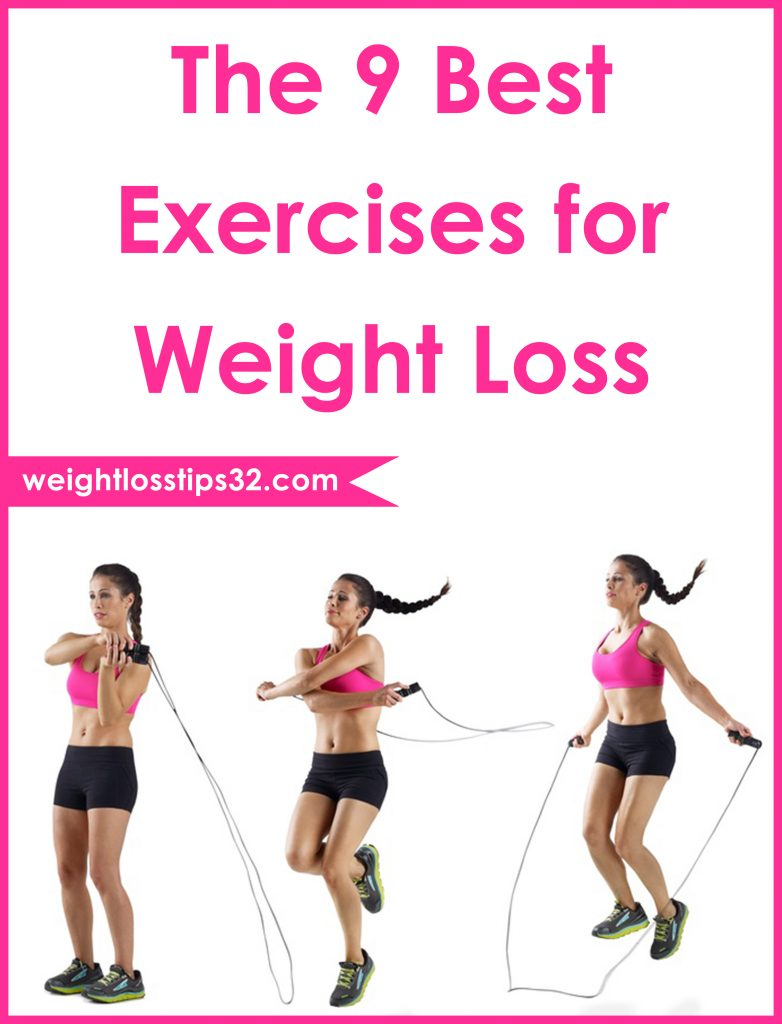 The 9 Best Exercises for Weight Loss