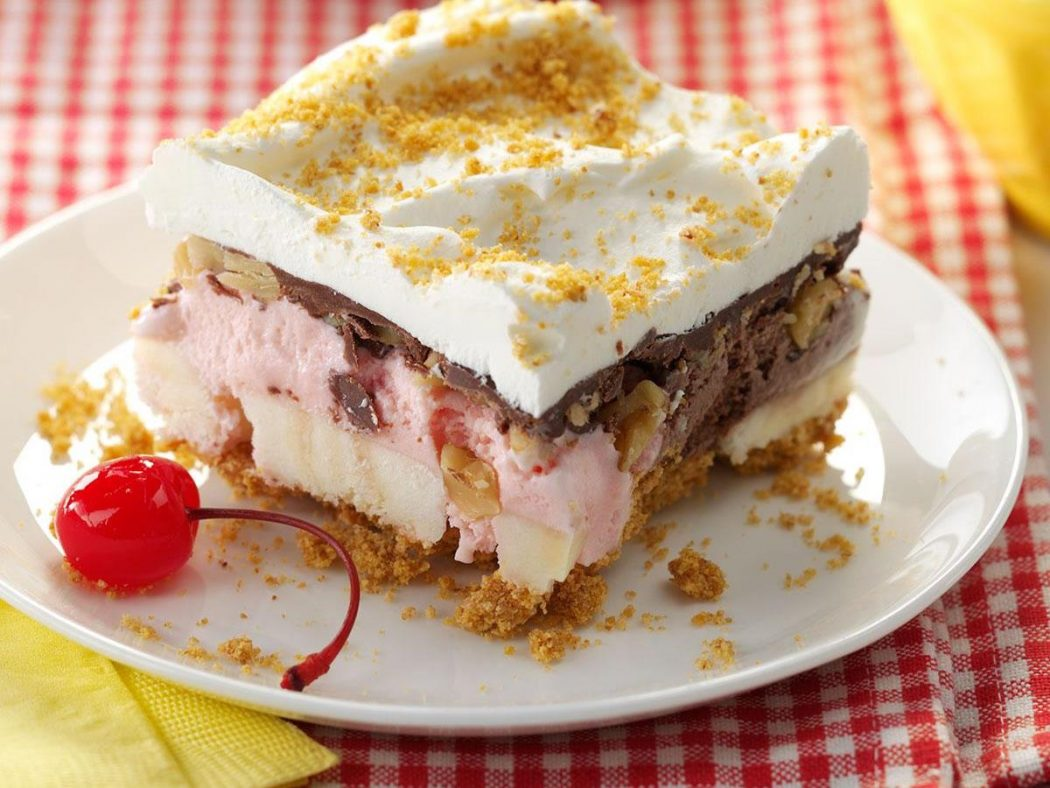 Low Carb Desserts Easy and Delicious Keto Friendly Desserts Worth Making - Banana Split Cake