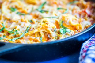 Low Carb Pasta - zucchini noodle spaghetti bake