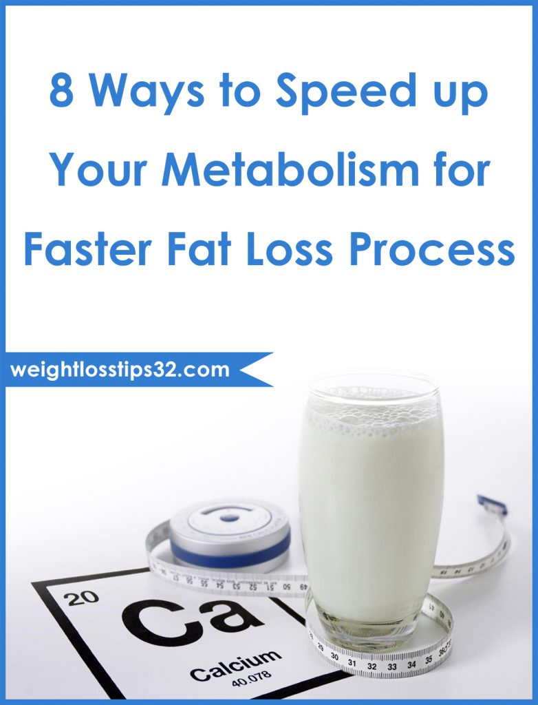 8 Ways to Speed up Your Metabolism for Faster Fat Loss Process Pinterest