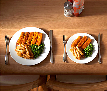 Eat Smaller Meals - Top Ways to Burn Fat Fast and Get Rid of the Belly Fat