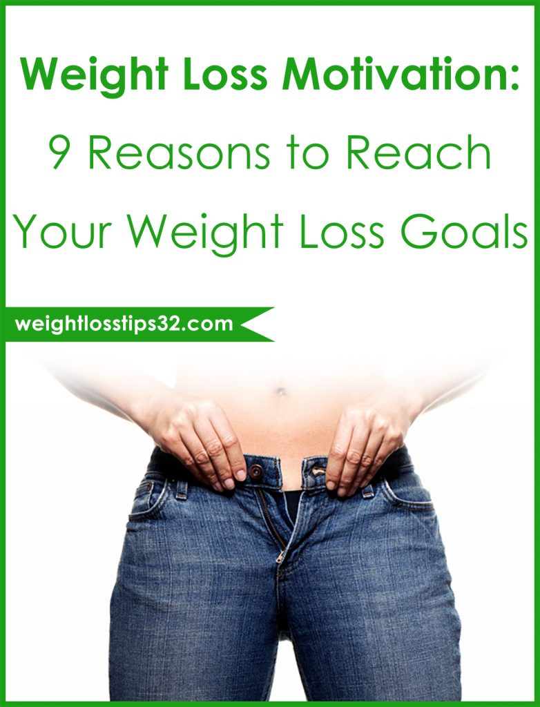 Weight Loss Motivation: 9 Reasons to Reach Your Weight Loss Goals