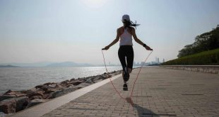 Jumping rope - Best Cardio Exercise to Lose Belly Fat at Home