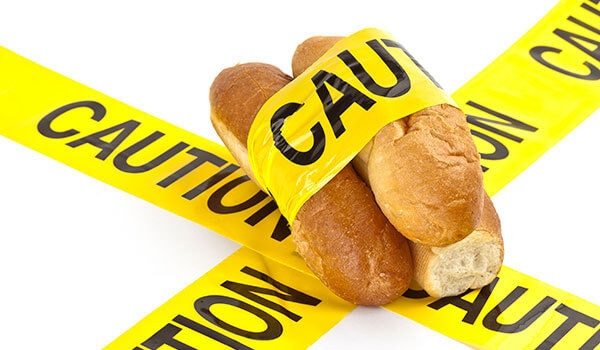 Cut down your carb intake