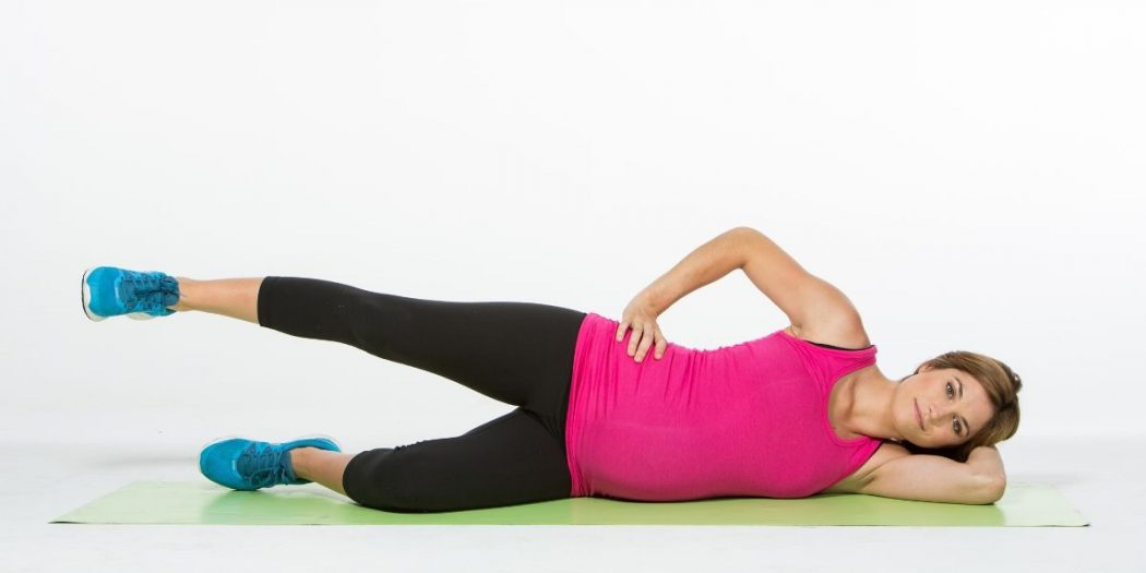 Lateral leg raises - How to Lose Thigh Fat for Teenage Girl