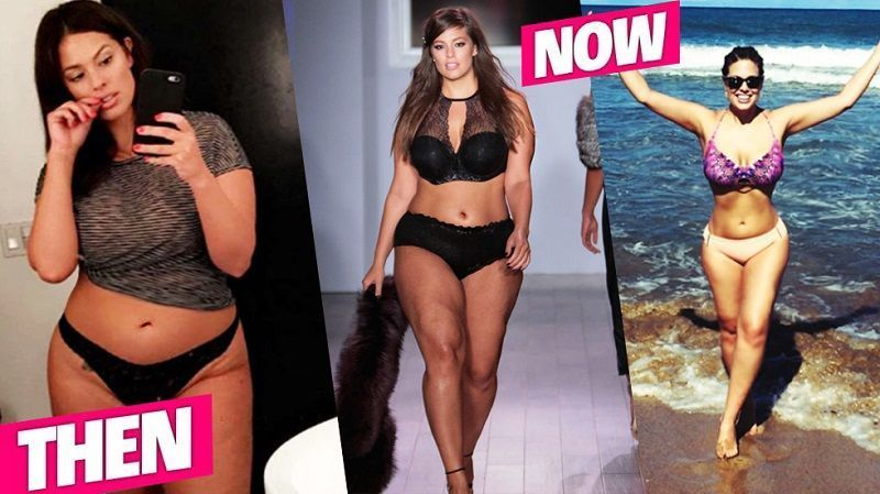 Ashley Graham Weight Loss Journey