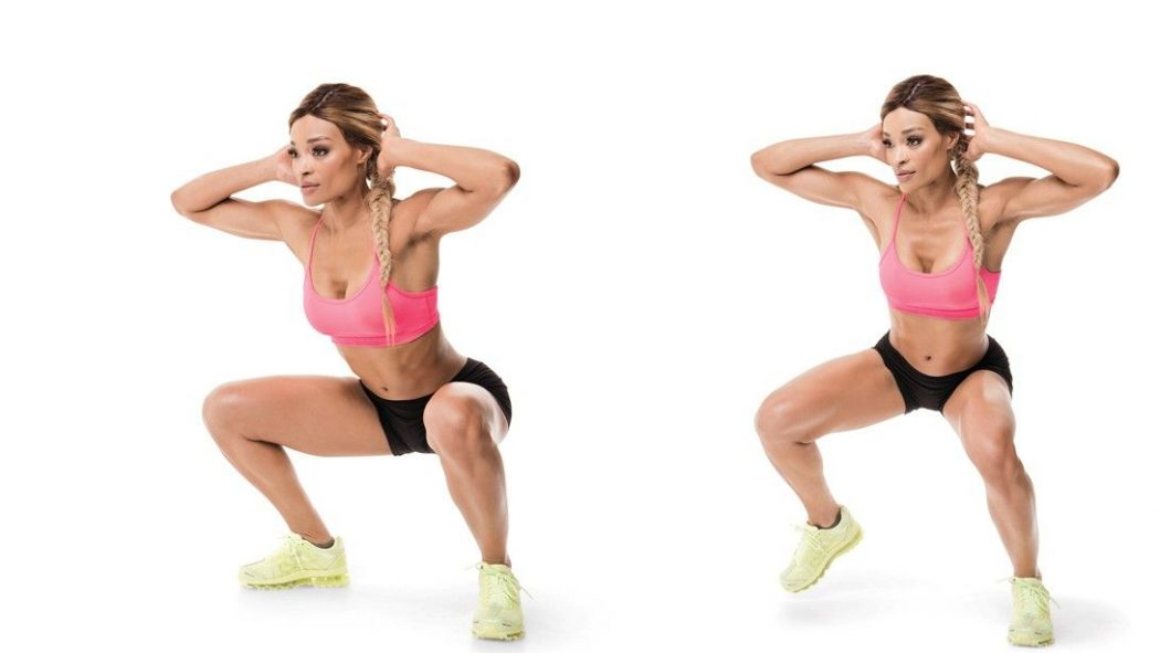Duck squat - Best Exercises to Lose Buttocks and Thigh Fat