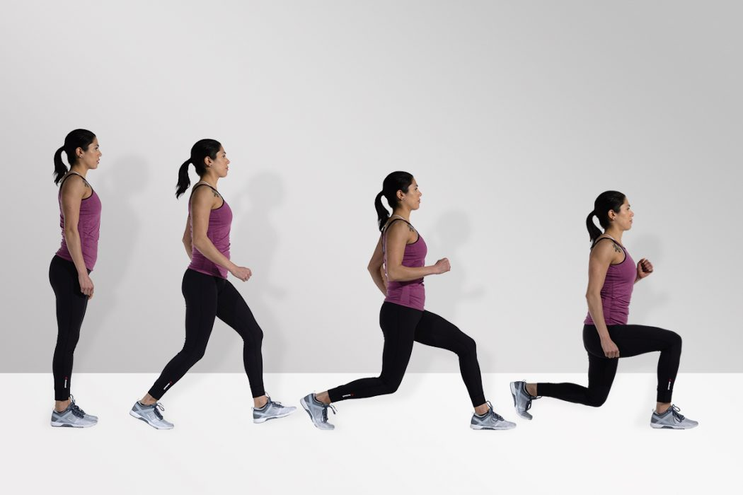 Lunges - How to Get Hips and Curves